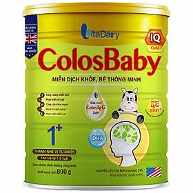 Sản Phẩm Dinh Dưỡng Công Thức ColosBaby IQ 1+ 800g - S
