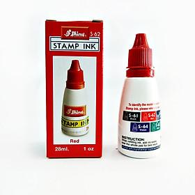 Mực dấu Shiny dùng trên giấy (Lựa chọn màu mực: Xanh, Đỏ, Đen) - Hàng nhập khẩu