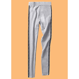 Quần nữ legging có viền xọc 2 bên co giản 4 chiều-119