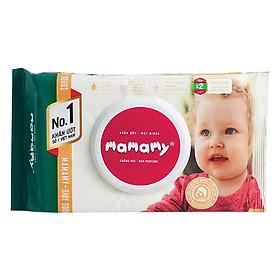 Combo 5 Gói Khăn Giấy Ướt Mamamy Không Mùi (80 Tờ / Gói)