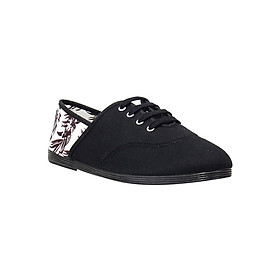 Giày Lười Flossy Unisex Mancha Black - Đen