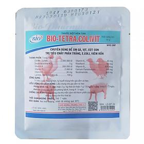 Dinh dưỡng úm gà con - Tetracolivit 50g