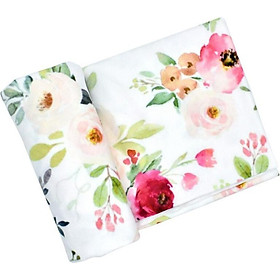 Baby Swaddle Wrap Soft Baby Blankets Newborn Swaddle Muslin Wrap Infant Sleeping Bag Warm Baby Bedding Blanket
