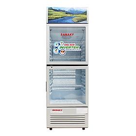 TỦ MÁT 2 CỬA SANAKY INVERTER 290 LÍT VH-358W3L NHÔM (LOW-E) (R600A) - hàng chính hãng