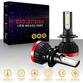 2PCS Mini Led Bulb Car Headlight H11 H1 H8 H9 H3 9005 / HB3 9006 / HB4 100W 20000LM 6000K Car Headlight