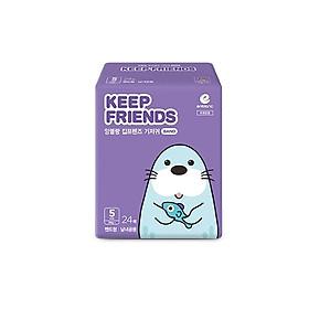 Tã dán nội địa Hàn Quốc Enblanc Keep Friend size 5 (XL 24 miếng)-0