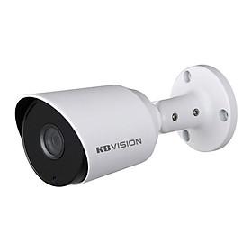 Camera HD CVI Thân Trụ 4.0 MP Hồng Ngoại 20m Kbvision KX-2K11C - Hàng Nhập Khẩu