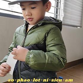 Áo Phao Cho Bé, Áo Phao Siêu Nhẹ, Có Lót Nỉ Bên Trong Cho Bé Cực Ấm AP03 ( Kèm Video Thật Shop Tự Quay)