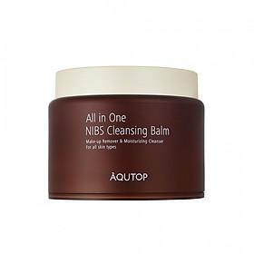 Sáp tẩy trang tổng hợp tinh chất hạt cacao AQUTOP All In One NIBS Cleansing Balm (100 ml)