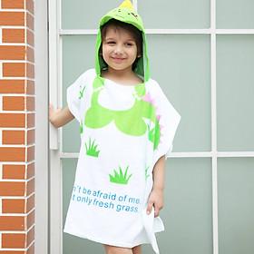 Khăn bơi hình ếch xanh cho bé từ 2 đến 7 tuổi