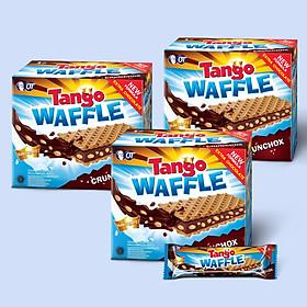 Combo 3 Bánh Xốp Tango Waffle Sôcôla 160gr (8gr x 20pcs)
