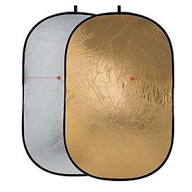 Hắt sáng 2 in 1 bầu dục kích thước 100x150cm