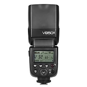 Đèn Pin Không Dây Chụp Ảnh Tốc Độ Cao Godox V850II GN60 (2.4G) (1/8000S)