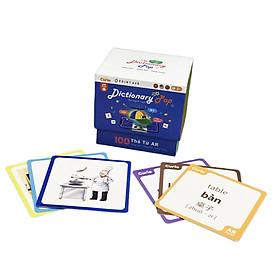 Thẻ Flash Card 3 ngôn ngữ Dictionary Pop AR