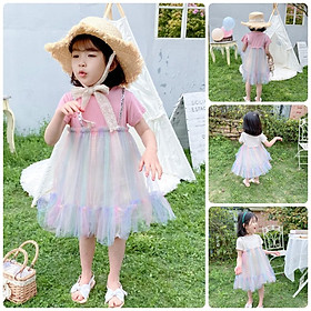 VN53Size70-100 (4-16kg)Đầm cho bé gái 1 tuổi đến 3 tuổiThời trang trẻ Em hàng quảng châu