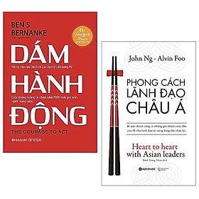 Combo 2 Cuốn Sách Kỹ Năng Làm Việc Hay Để Thành Công: Dám Hành Động + Phong Cách Lãnh Đạo Châu Á / Sách Kinh Tế - Sách Tư Duy Kỹ Năng Làm Việc (Tặng Bookmark Happy Life)
