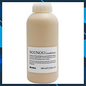 Dầu xả Davines Nounou Conditioner siêu mượt cho tóc khô hư tổn do hóa chất uốn duỗi nhuộm 1000ml