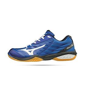Giày cầu lông chuyên dụng, giày thể thao nam Mizuno Wave Claw 71GA191027 mẫu mới hàng chính hãng dành cho cả nam và nữ màu xanh dương đủ síze