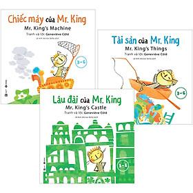 [Download sách] Combo 3 Quyển : Chiếc Máy Của Mr. King + Tài Sản Của Mr. King + Lâu Đài Của Mr. King (3-6 Tuổi)