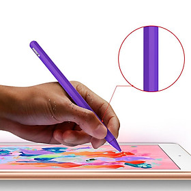 Silicone Case for Apple Pencil 2 Holder Sleeve Skin Pocket Cover Pen Stick Pouch Accessories Kit
