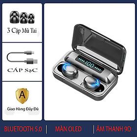 Tai nghe không dây - Tai nghe bluetooth ANNCOE F9 Plus công nghệ Bluetooth 5.0 - Âm bass êm và sâu, chip AIC chống gây chói tai - Hàng Chính Hãng