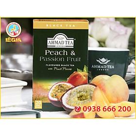 TRÀ AHMAD ĐÀO VÀ CHANH DÂY 40G (Ahmad Peach & Passion Fruit Tea)