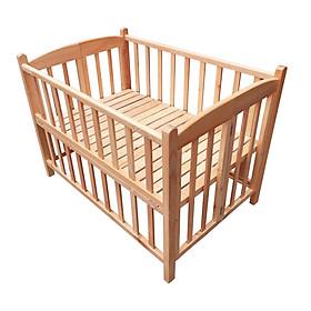 Cũi cho bé - Cũi giường gỗ Sồi cao cấp - Chất lượng và An toàn