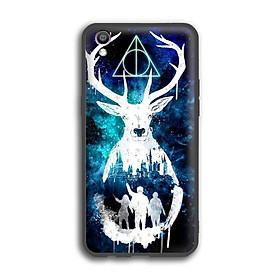 Ốp lưng Harry Potter cho điện thoại Oppo F1 Plus - Viền TPU dẻo - 02058 7769 HP01 - Hàng Chính Hãng
