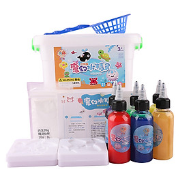 8 Colors DIY Handmade Water Elves Sea Baby Painting Toys Pretend Play Kit for Age 3+ Boys & Girls