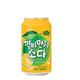 Combo 6 lon Nước Soda SFC Hàn Quốc 350ml - Nhiều vị lựa chọn