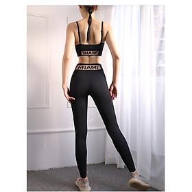 Bộ Đồ Tập Gym, Yoga, Fitness Nữ Cao Cấp SG01 3 Màu Sexy
