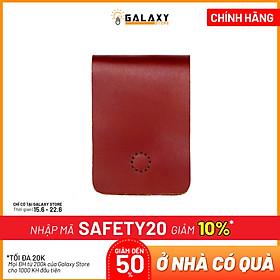 Ví Bóp Nam Nữ Nhỏ Gọn Thời Trang Độc Đáo Da Bò Thật Handmade Galaxy Store GVU (11x8cm)
