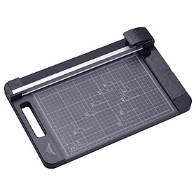 JIELISI 3-in-1 Paper Trimmer Multi-Functional A4 Paper Cutter Straight Skip Wave Cutter with 12.6 Inch Cut Length for