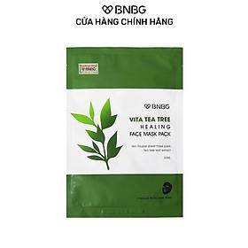 Mặt Nạ BNBG Tràm Trà Thải Độc Da, Giảm Mụn Vita Tea Tree Healing Face Mask Pack 30ml
