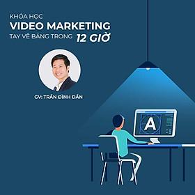 Video marketing tay vẽ bảng trong vòng 12h