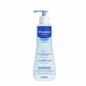 Nước rửa cho bé không cần dùng nước thường No Rinse Cleansing Water 300 ml – Thương hiệu Mustela của Pháp