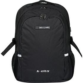 Balo Simplecarry K-City 0000578 (Size M) - Đen