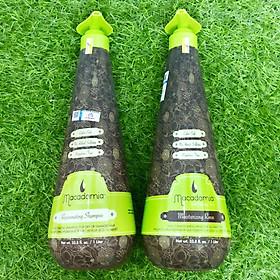 Bộ dầu gội xả trẻ hóa tóc siêu mượt Macadamia Rejuvenating Moisturizing Rinse chính hãng Mỹ 1000ml-0