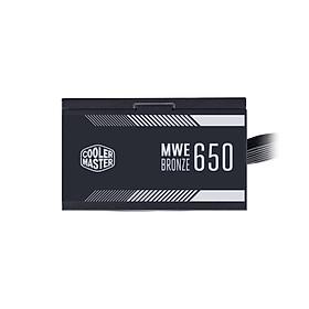 Nguồn máy tính Cooler Master  MWE 650 BRONZE V2 - 80 Plus BRONZE - Hàng chính hãng