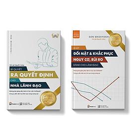 Sách Combo 2 cuốn dành cho nhà lãnh đạo Bí quyết đối mặt & khắc phục rủi ro dành cho nhà lãnh đạo+Bí quyết ra quyết định dành cho nhà lãnh đạo
