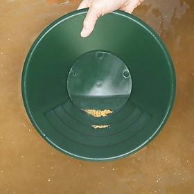 Gold Pan Nugget Mining River Creek Panning Wash Gold Panning Tool Black