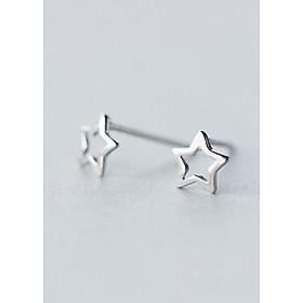 Bông Tai Nữ | Bông Tai Nữ Bạc Ngôi Sao B2434 - Bảo Ngọc Jewelry