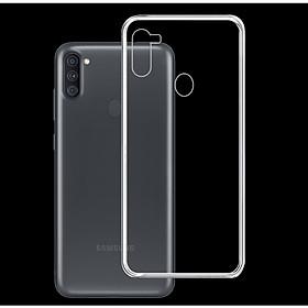Ốp Lưng Điện Thoại Samsung Galaxy A11 - 01294 - Ốp dẻo trong - Hàng Chính Hãng