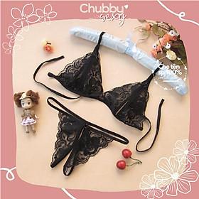 Bộ Đồ Lót Nữ Lọt Khe G-String - Nội Y Nữ Sexy - BDL02 - Chubby.Sexy