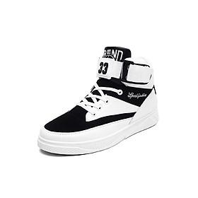 Giày boot nam kiểu thể thao cổ ngắn có đai cổ ZARIS ZR2333