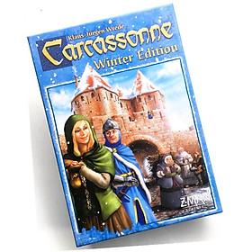 Đồ Chơi Board Game Carcassonne  Winter Edition Tiếng Anh Bản Chuẩn Chất Lượng Cao