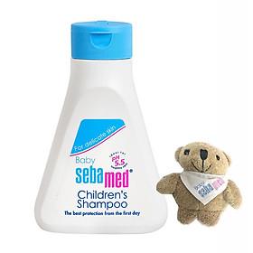 Dầu Gội Dịu Nhẹ Không Cay Mắt Sebamed Ph5,5 Children's Shampoo - SBB02C - 150ml - Tặng Gấu Bông Treo Chìa Khoá