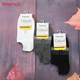 Tất vớ ngắn dưới mắt cá, chất liệu cotton FREEMAN [Combo 3_SOC10...]