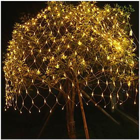 Lưới Đèn LED Chống Nước Trang Trí Ngoài Trời Cho Giánh Sinh, Tiệc, Lễ Tết - Nhiều Kích Cỡ