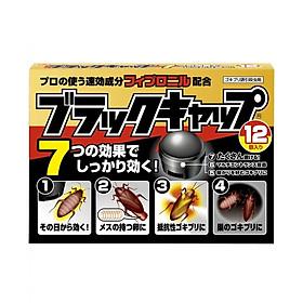 Hộp 12 viên thuốc diệt gián nội địa Nhật Bản
